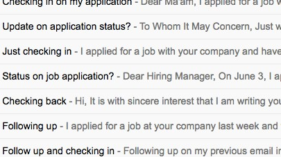 Your Follow Up Emails To The Hiring Manager Won T Get You The Job Vice