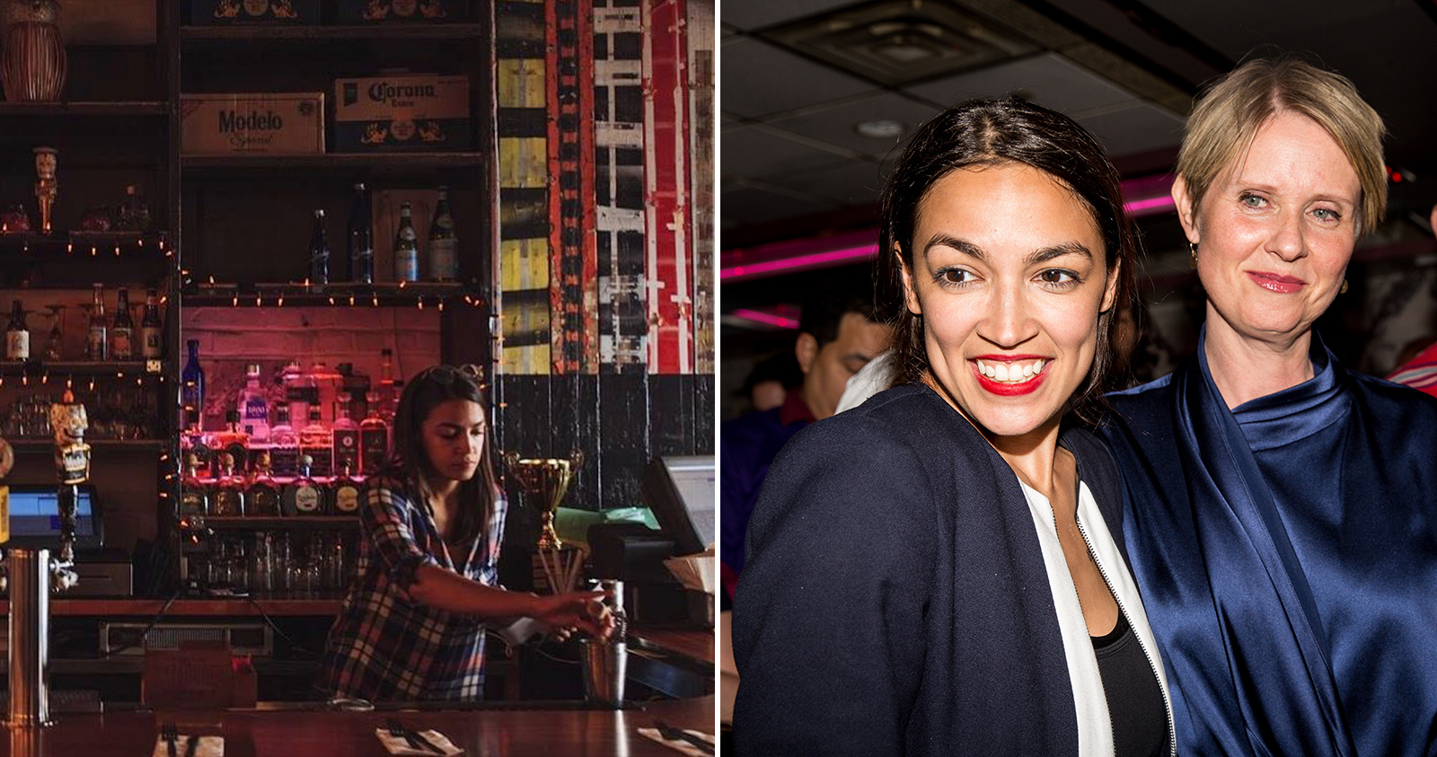 969be816 Alexandria Ocasio-Cortez Was Tending Bar and Waiting Tables Less than a  Year Ago