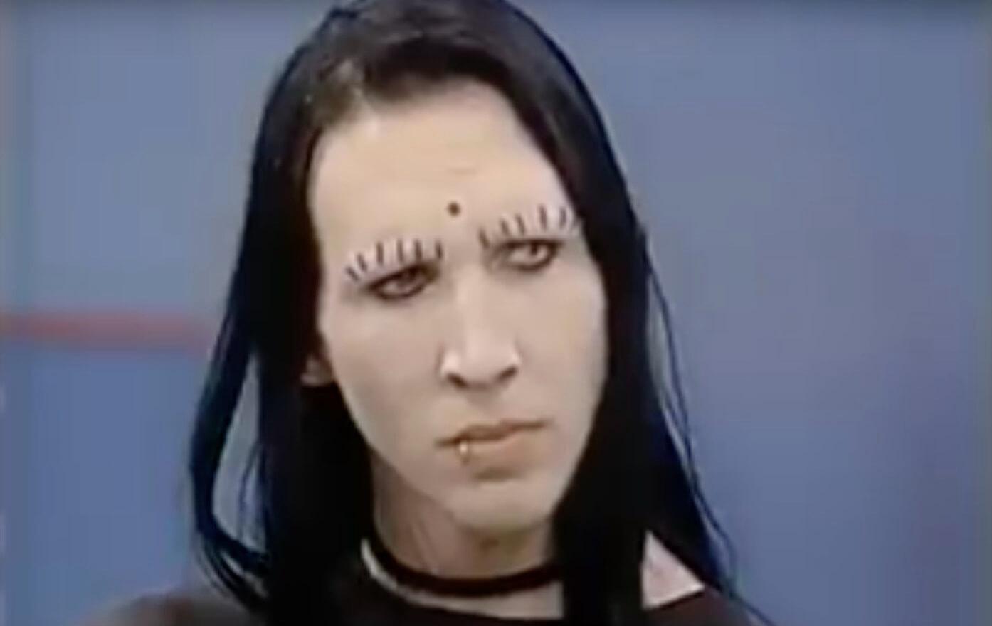 Marilyn Manson Ist In Dieser 90er Talkshow Zum Thema Moshen Das