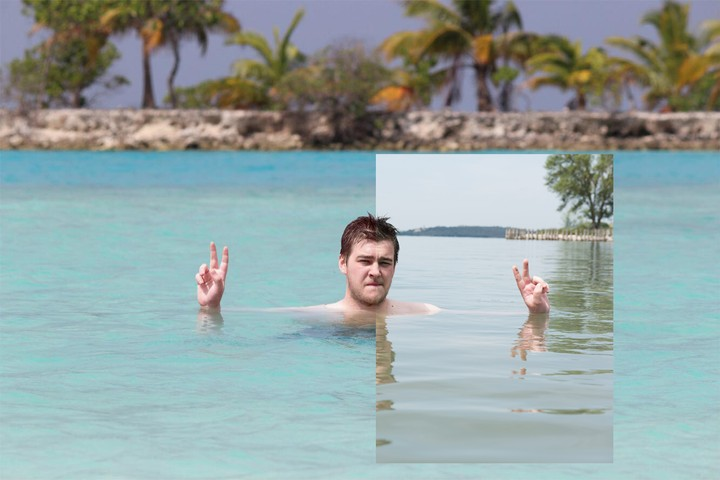 Ho fatto finta di essere in vacanza alle Maldive e tutti ci hanno creduto