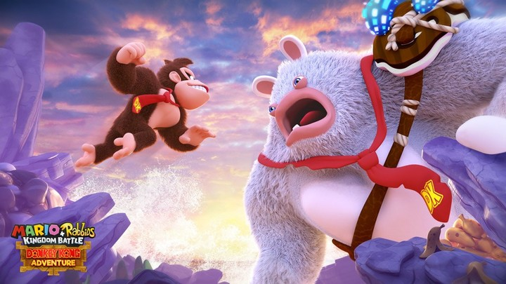 Картинки по запросу donkey kong adventure rabbids gif battle