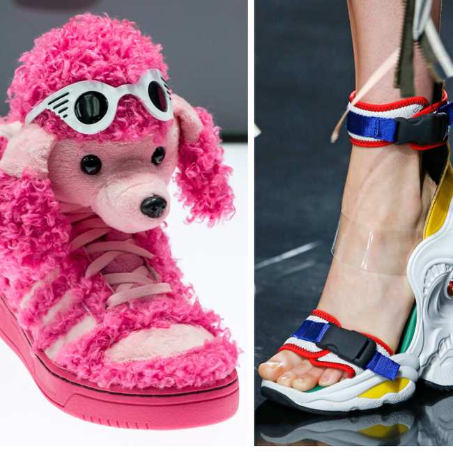 bcc4a4d1a261 the most iconic fugly shoe hybrids in fashion history - i-D