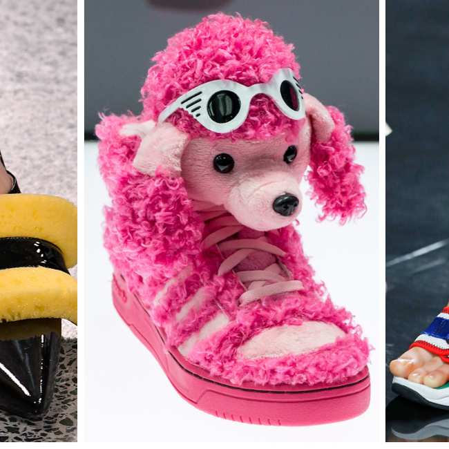 Das sind die hässlichsten Schuhe in der Modegeschichte i D