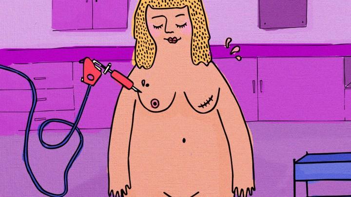 Esta chica tatúa gratis los pezones de mujeres que han sufrido cáncer de mama