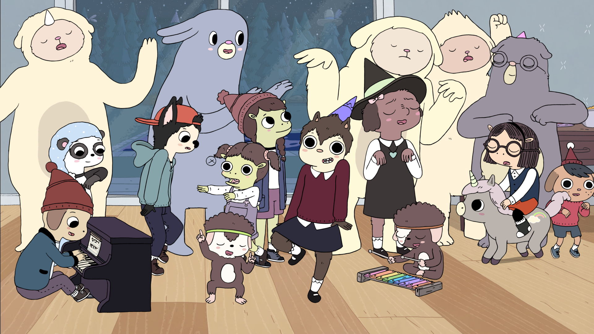 The New Show 'Summer Camp Island' Will Fill the 'Adventure Time