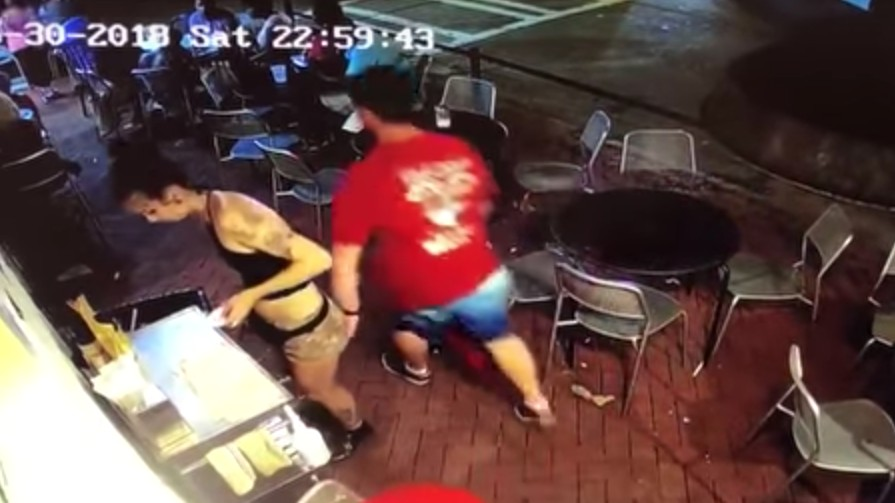 Watch a Waitress Take Down a Creep Who Groped Her