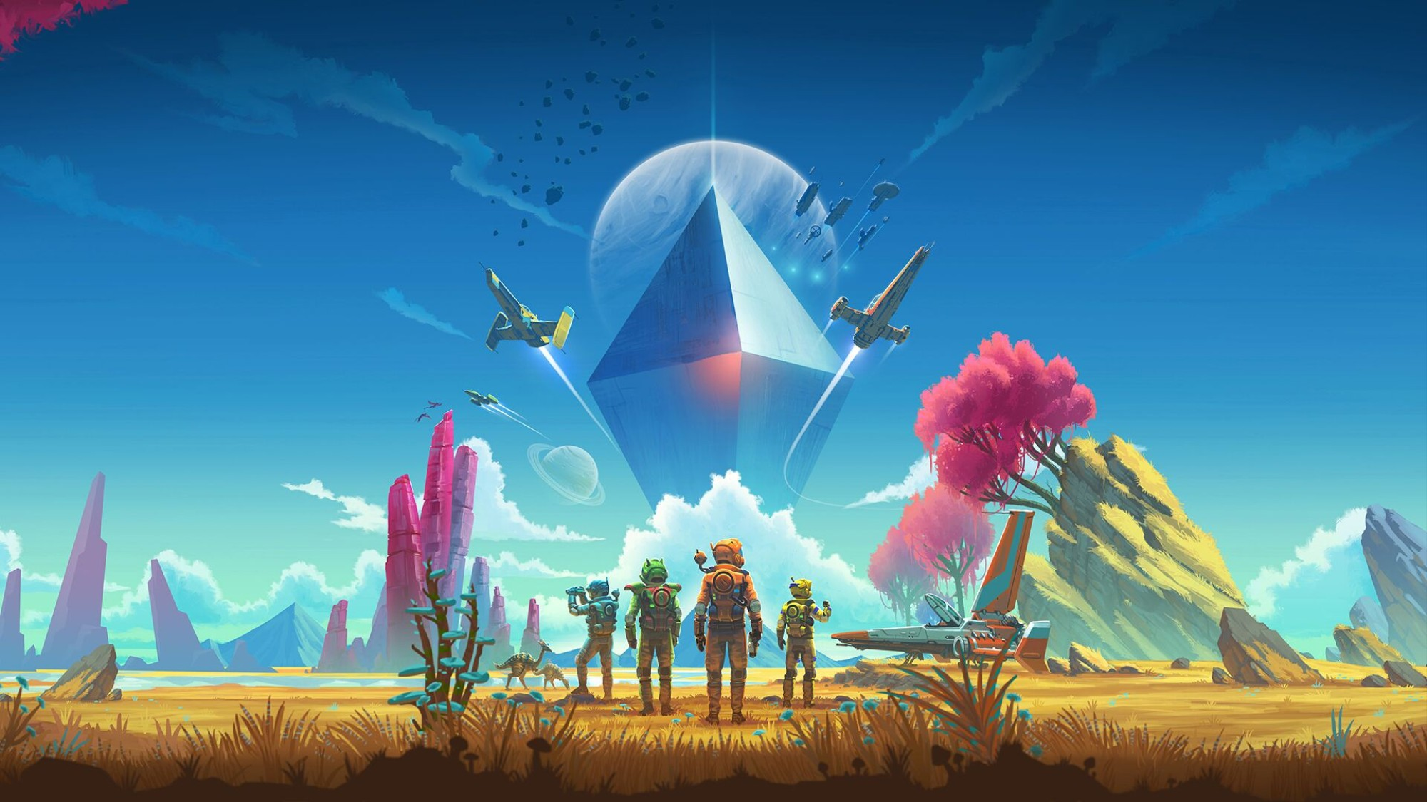 We Spent an Hour Talking to Hello Games About Everything 'No Man's