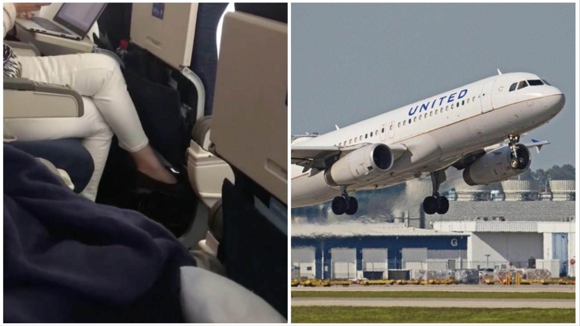 Woman Says Flight Crew Made 'Jokes' After a Man Masturbated Next to
