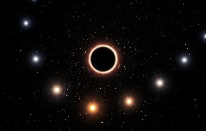 Un trou noir a permis de confirmer l'une des prédictions de la relativité générale