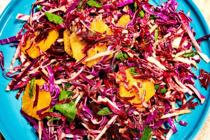 Cabbage and Citrus Salad Recipe