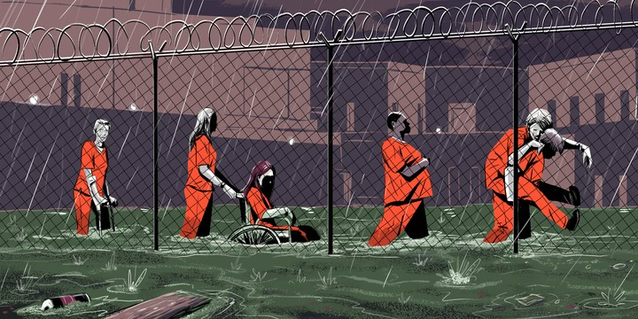 All the Crazy Things I Saw in Prison During Hurricane Harvey