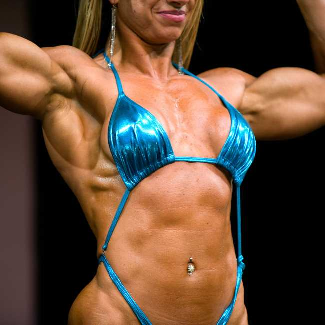 Inside the Lucrative World of Female Muscle Worship