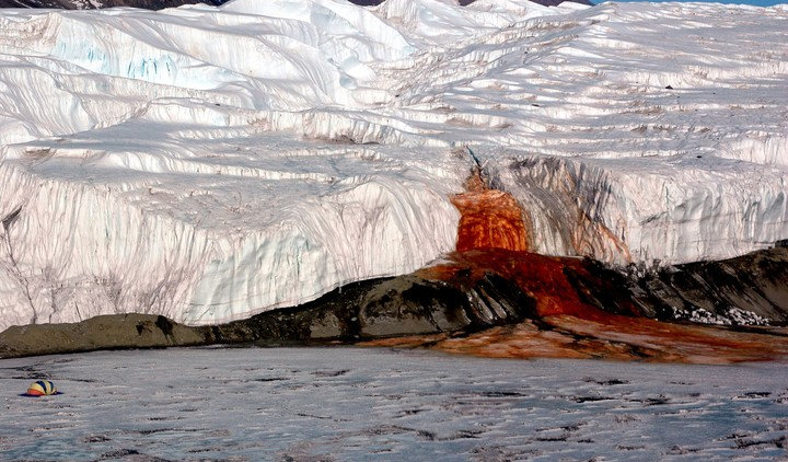 Scientists Finally Solved the Mystery of Antarctica's Blood Falls
