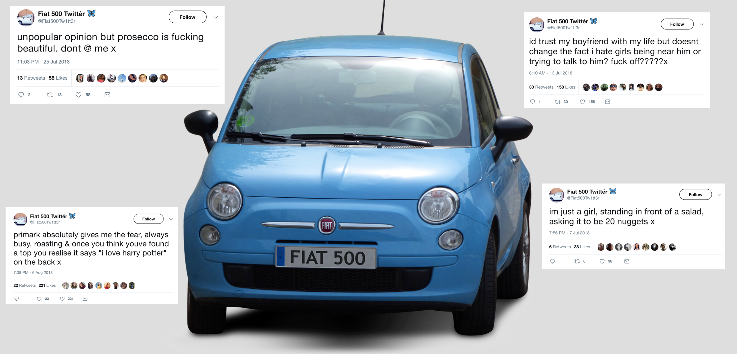 Going Deep On Fiat 500 Twitter Vice