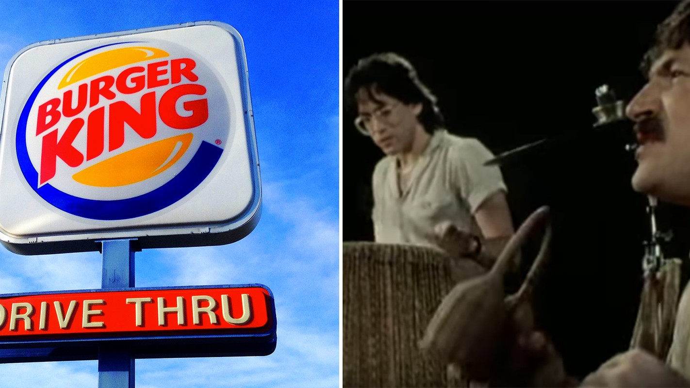 Toto's 'Africa' Is Playing On Loop in a London Burger King All Day Today