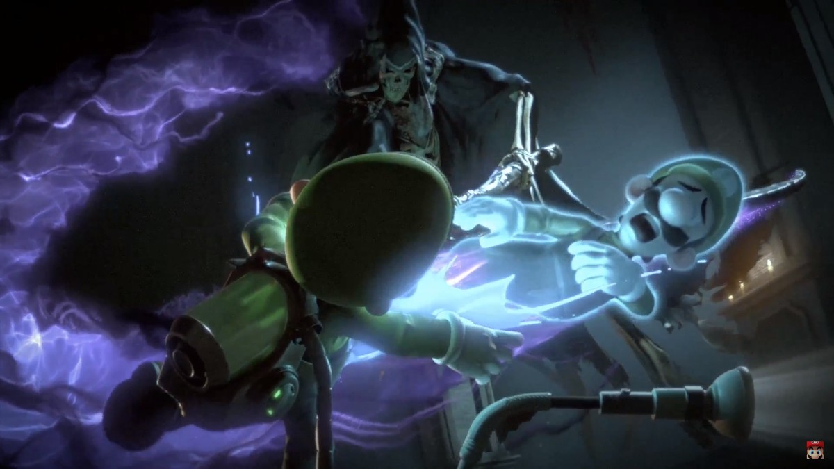 new smash bros ultimate trailer opens with luigi being murdered