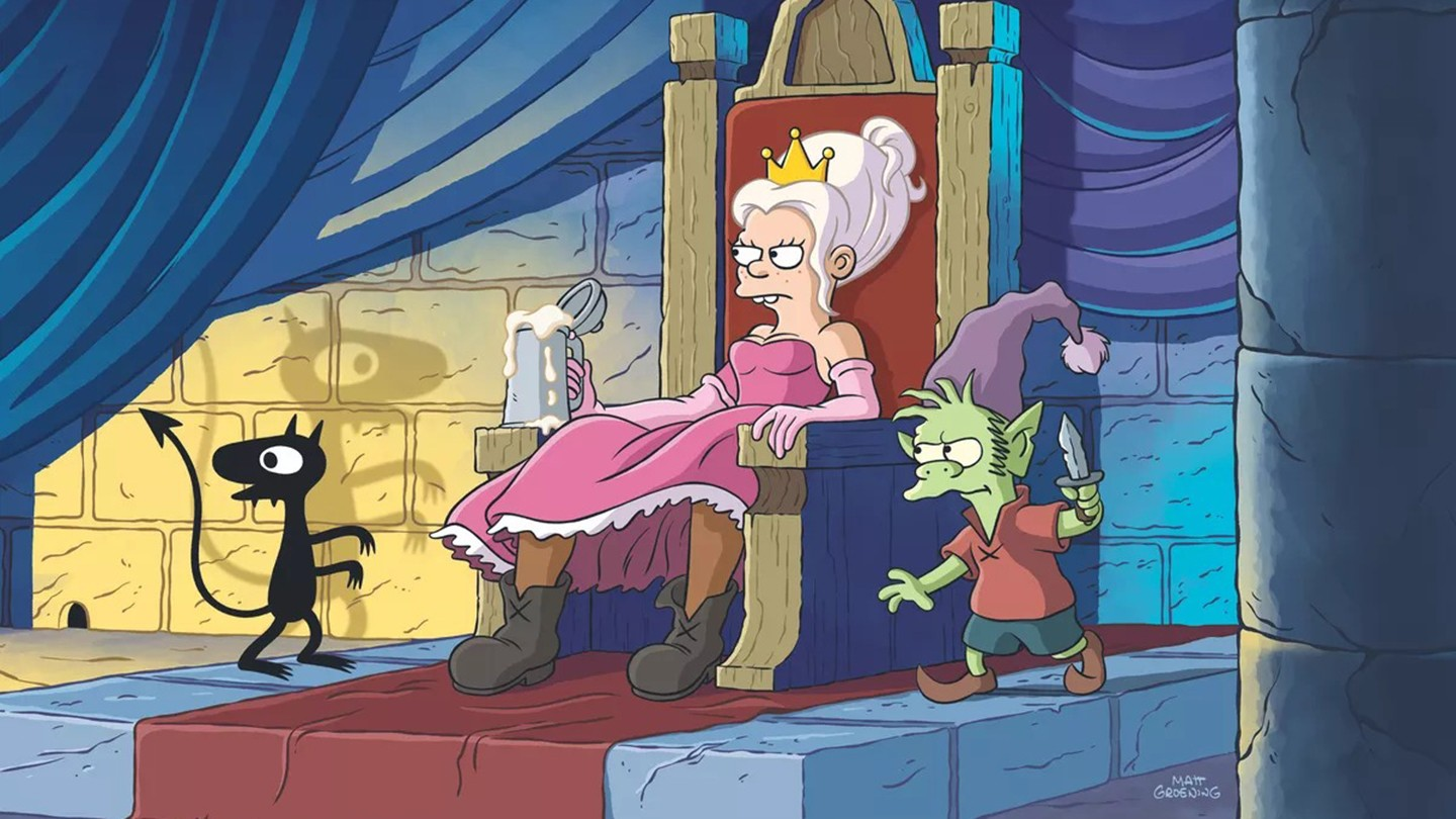 watch a new trailer for matt groening and abbi jacobson's new netflix show, disenchantment