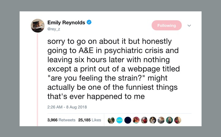 why this tweet about mental health services went viral