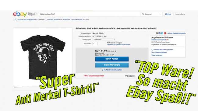 Ebay Bekommt Die Geschäfte Mit Verbotenem Nazi Merch Nicht In Den