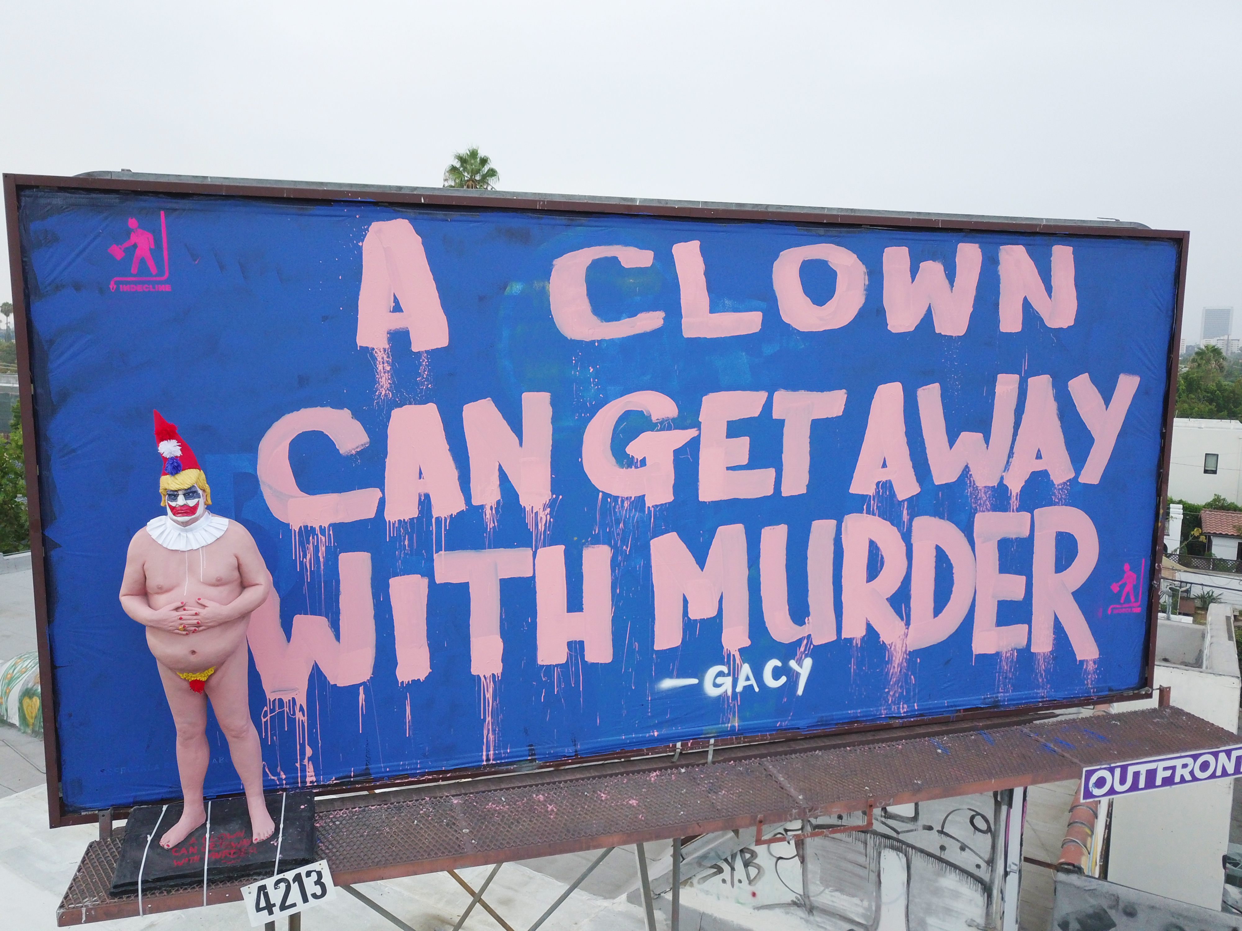 Image result for naked at trump gacy