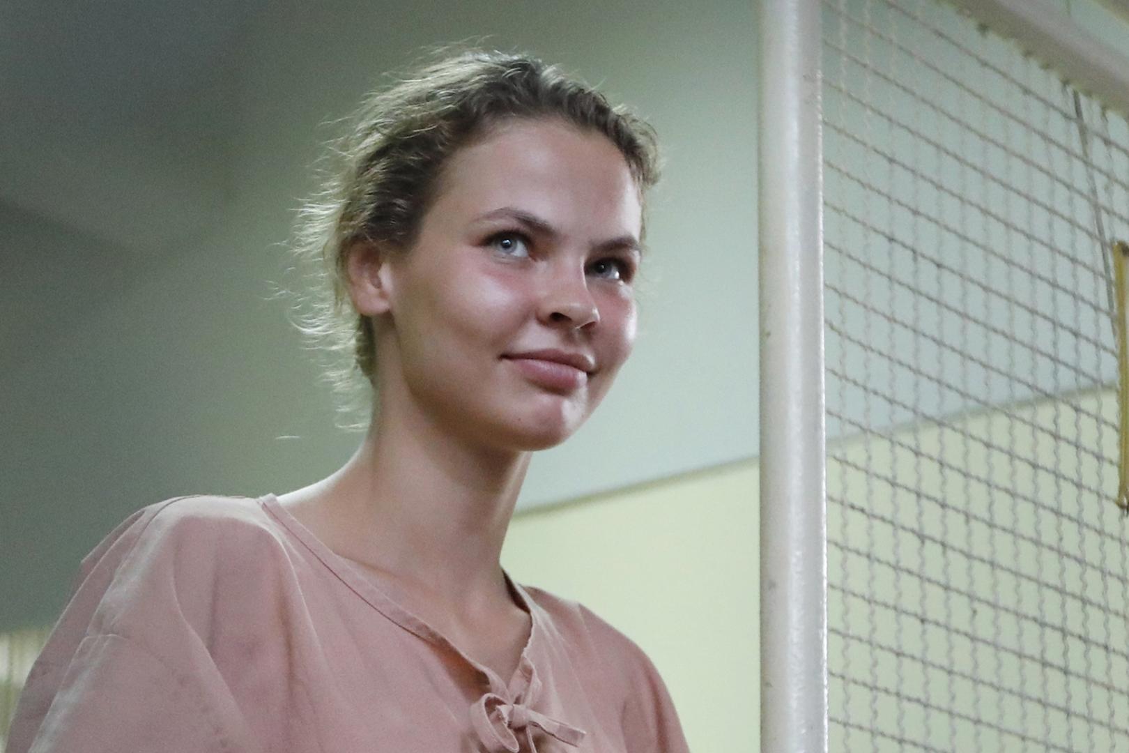 Nastya Prikhodko showed her the secret 01/18/2011 2