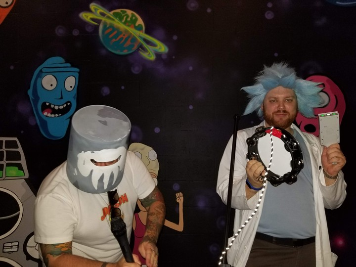Inside the 'Rick and Morty' Pop-Up Bar That Shut Down After One Glorious Night