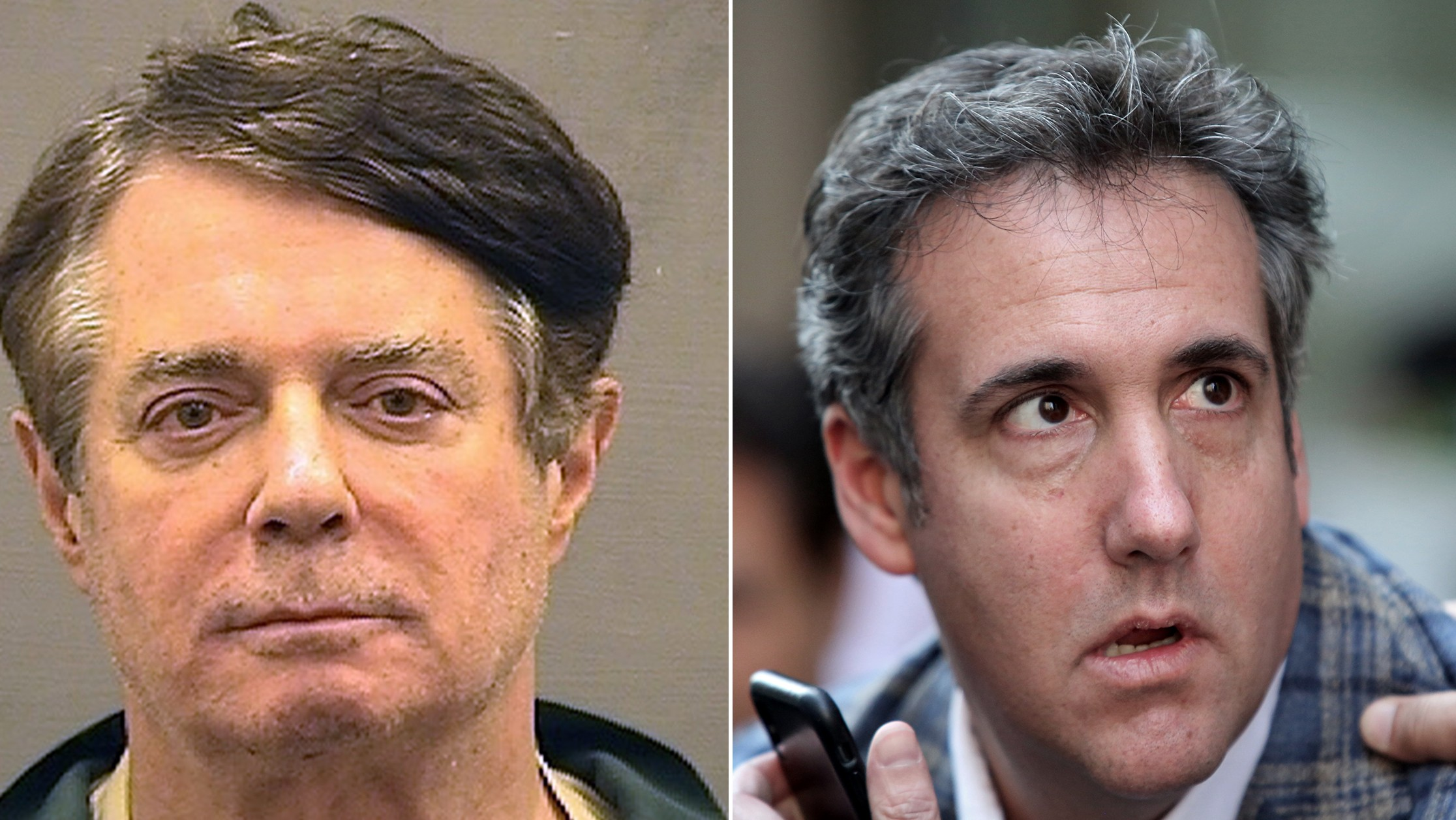 Image result for manafort and Cohen