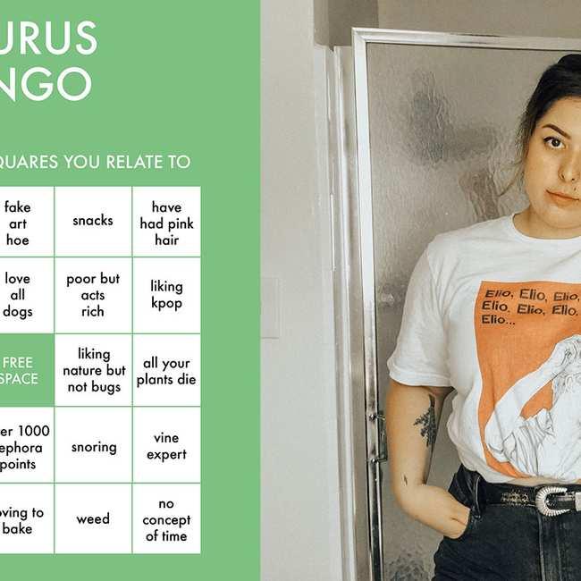 Astrology bingo is here and it's incredible