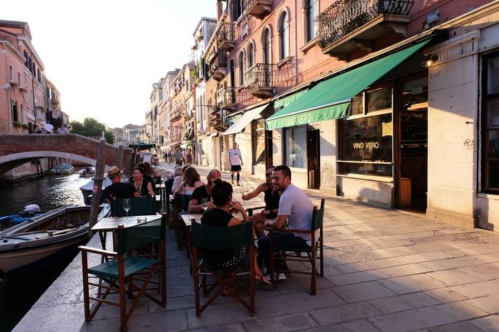 Il mio itinerario per bere vini pazzeschi, naturali, a Venezia