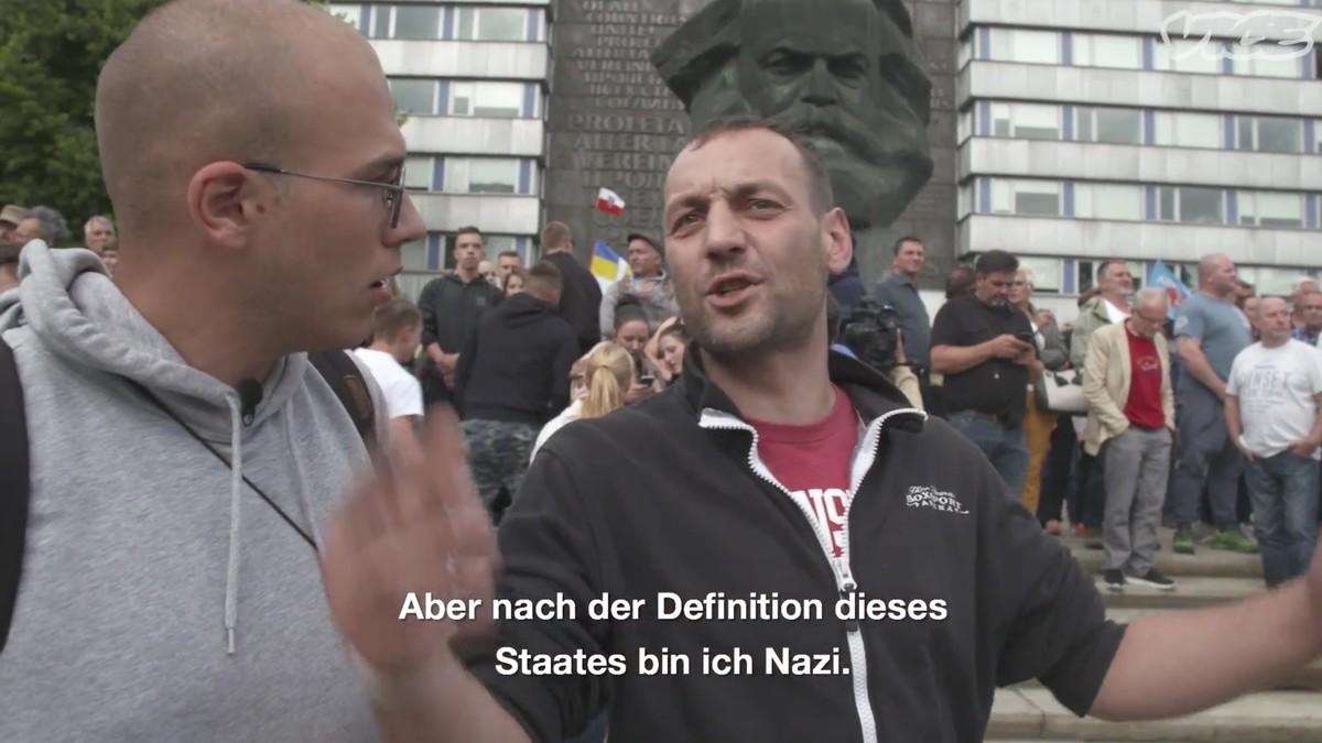 Die Neonazis sind nicht das Problem in Chemnitz