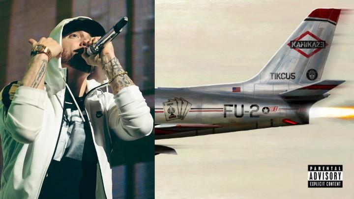 Eminem Just Surprise Released A New Album Called 'Kamikaze'