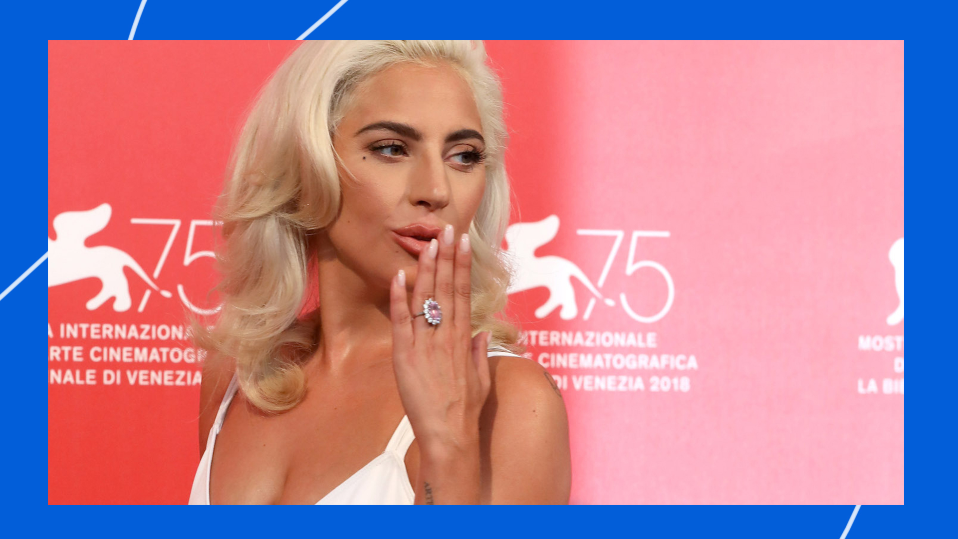 Lady Gaga Is Promoting \'A Star Is Born\' by Looking Incredible - Broadly