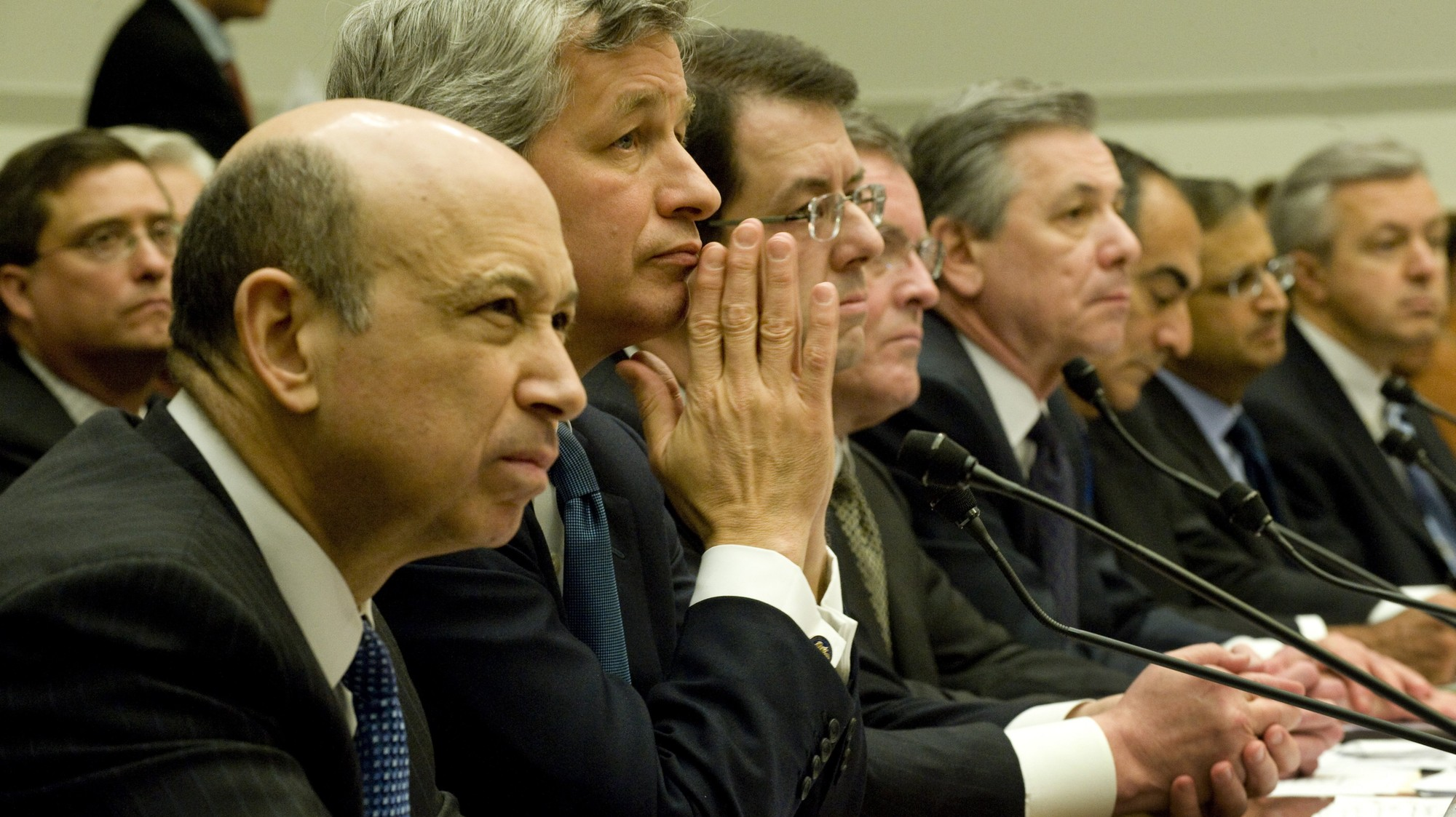 bankers getting their bailouts