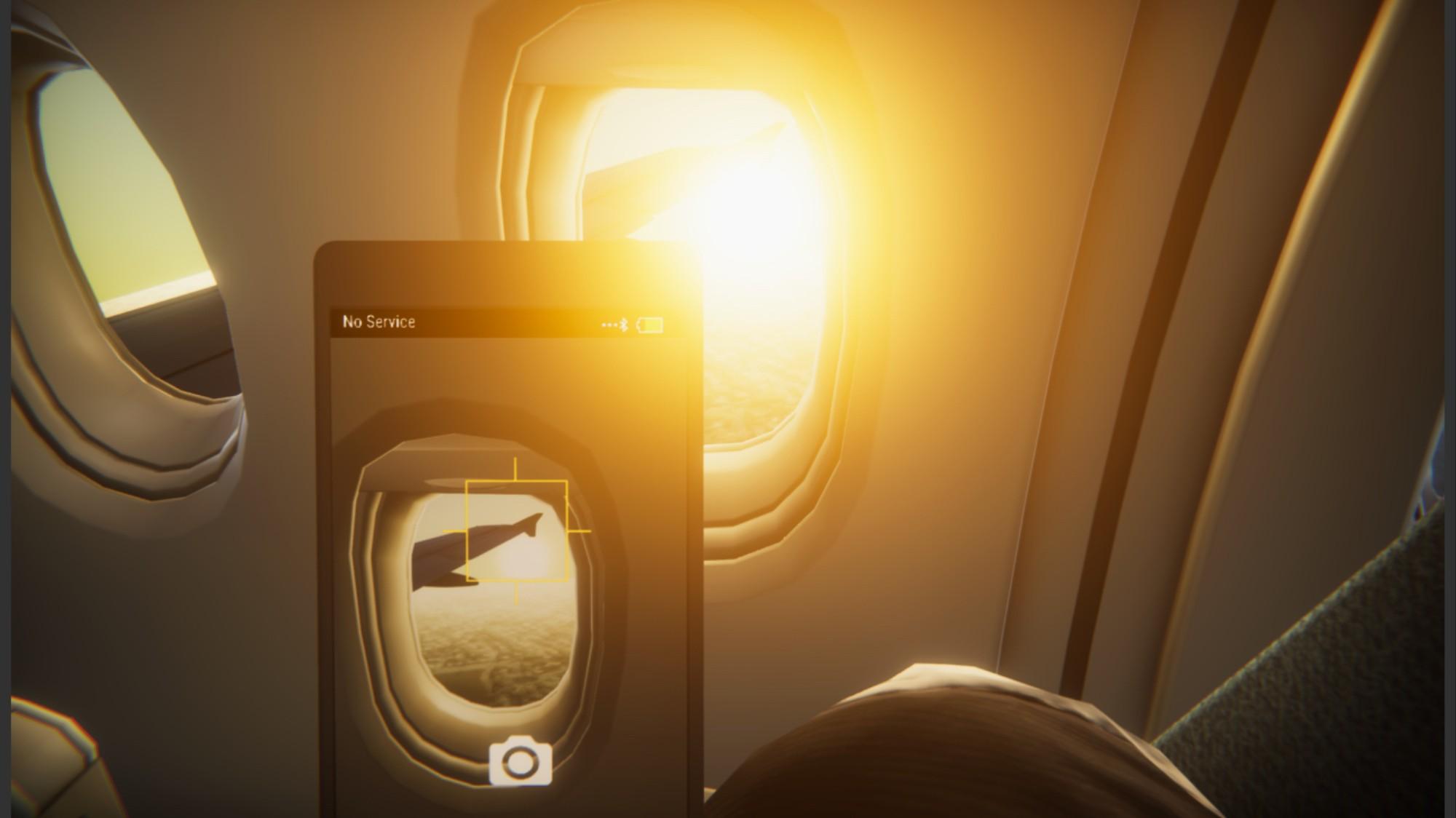 Realistic 'Flight Simulator' Puts Players in Economy Class