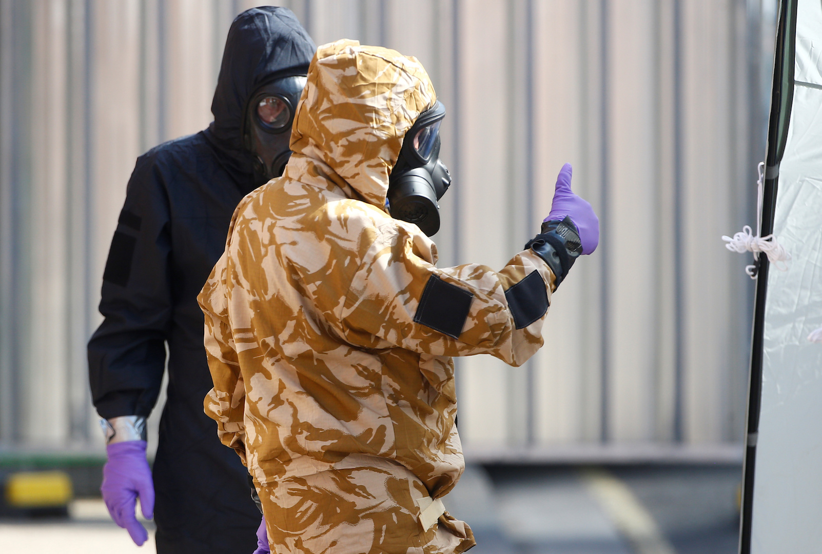 Russian spies were caught plotting to hack the lab analyzing the Salisbury Novichok samples