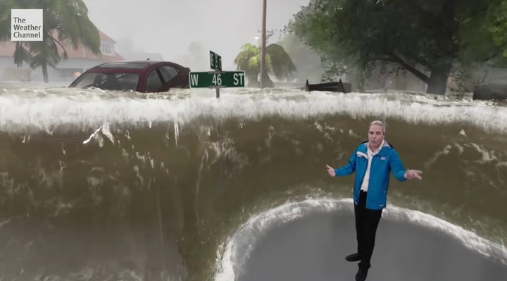 The Weather Channel Is Using Unreal Engine to Show How Dangerous Hurricane Florence Is