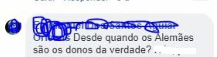 Internautas brasileiros falando que a Embaixada da Alemanha não sabe o que é nazismo é o puro creme da vergonha alheia