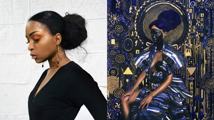 Gorgeous, Golden Paintings of Black Women as Queens and Mythical Figures