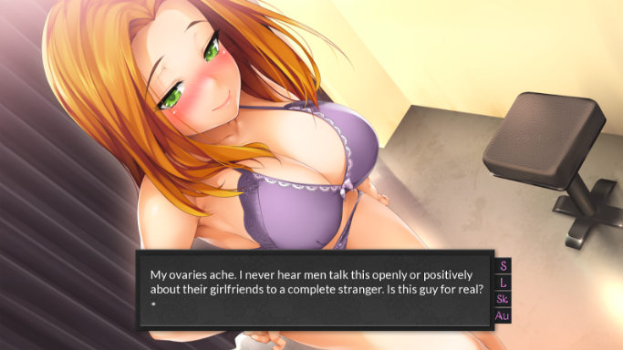 Hardcore porno dating sim