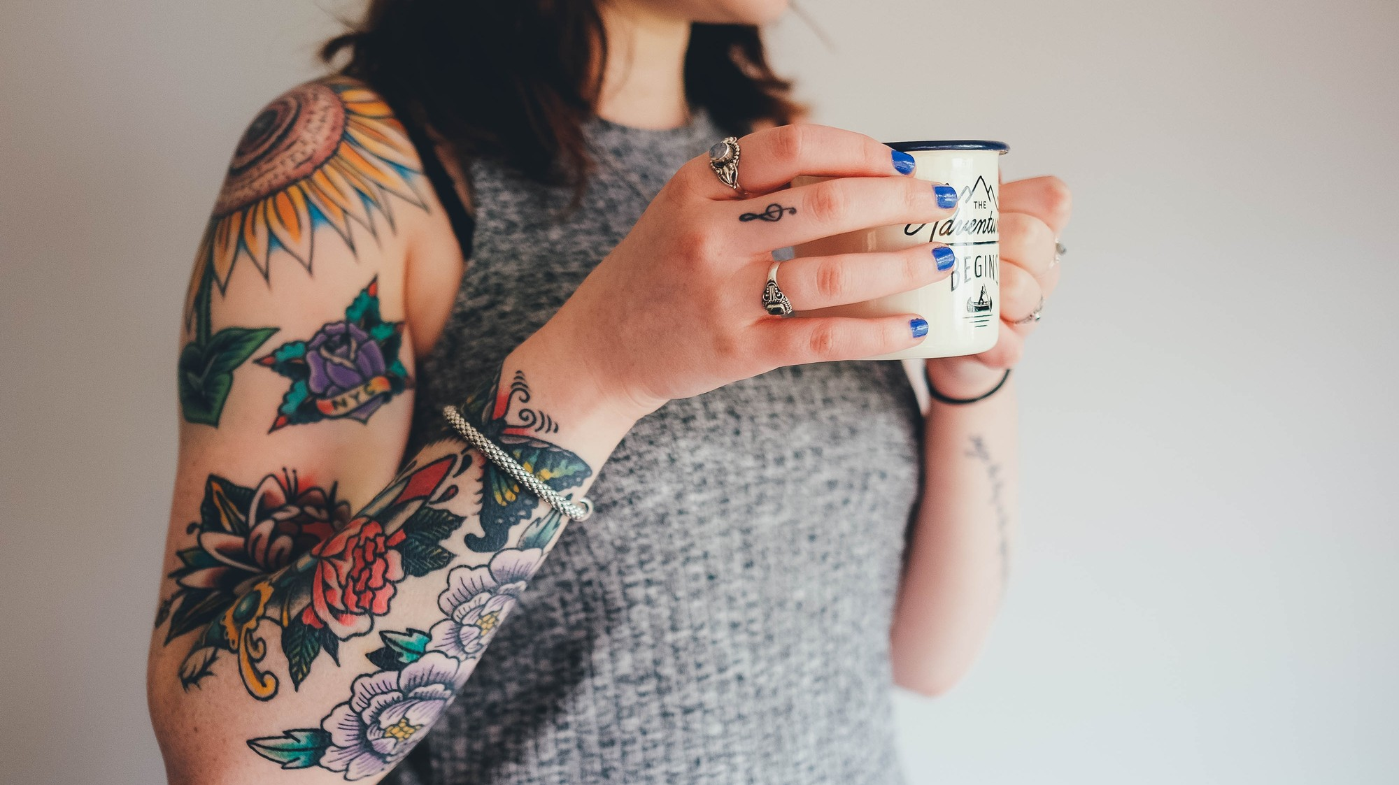 Tattoo Parlors Are Bragging About Their Healthy Vegan