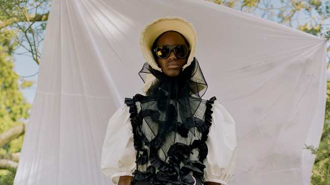 110f70163 simone rocha enlists tyler mitchell to shoot her moncler collection ...