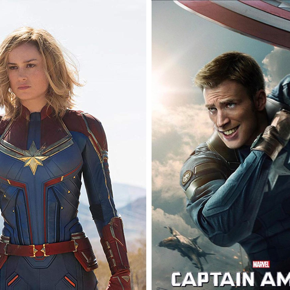 Brie Larson Was Told To Smile In Captain Marvel So She Put Smiles Onto Marvel Dudes Carol danvers army costume carol danvers pilot costume carol danvers / captain marvel agent costume carol danvers starforce member the sunglasses that brie larson wears in captain marvel for her role as the pilot carol danvers in the us air force are gold aviator sunglasses with. brie larson was told to smile in