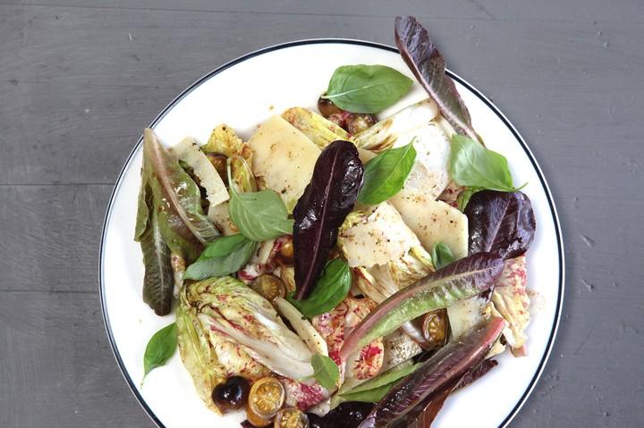 Radicchio and Summer Tomato Salad Recipe