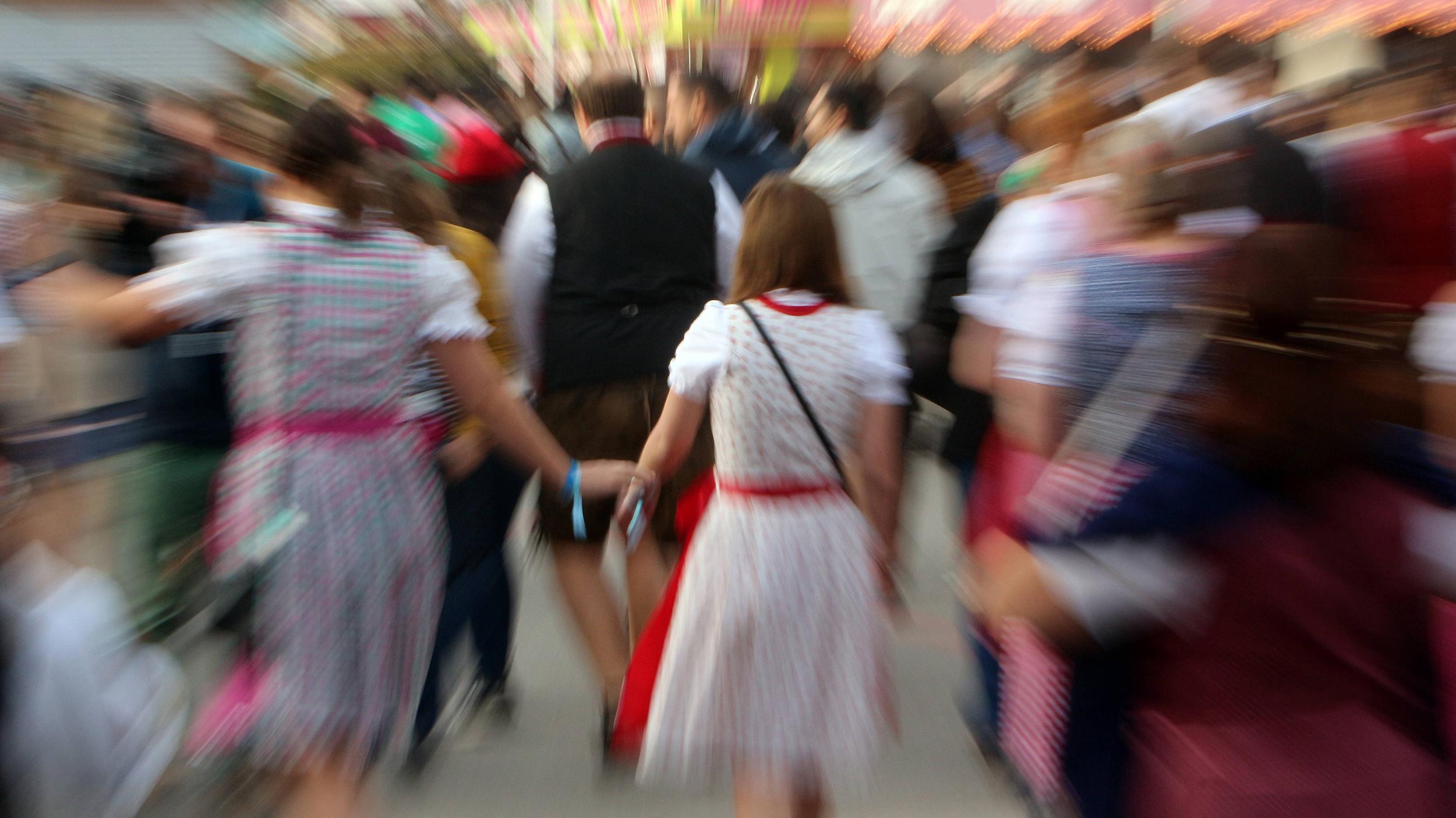 Das Oktoberfest ist keine zwei Tage alt und es gab schon sexualisierte Übergriffe