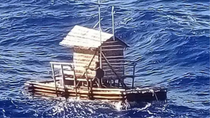A Teen Survived at Sea for 49 Days in This Rickety, Floating Hut