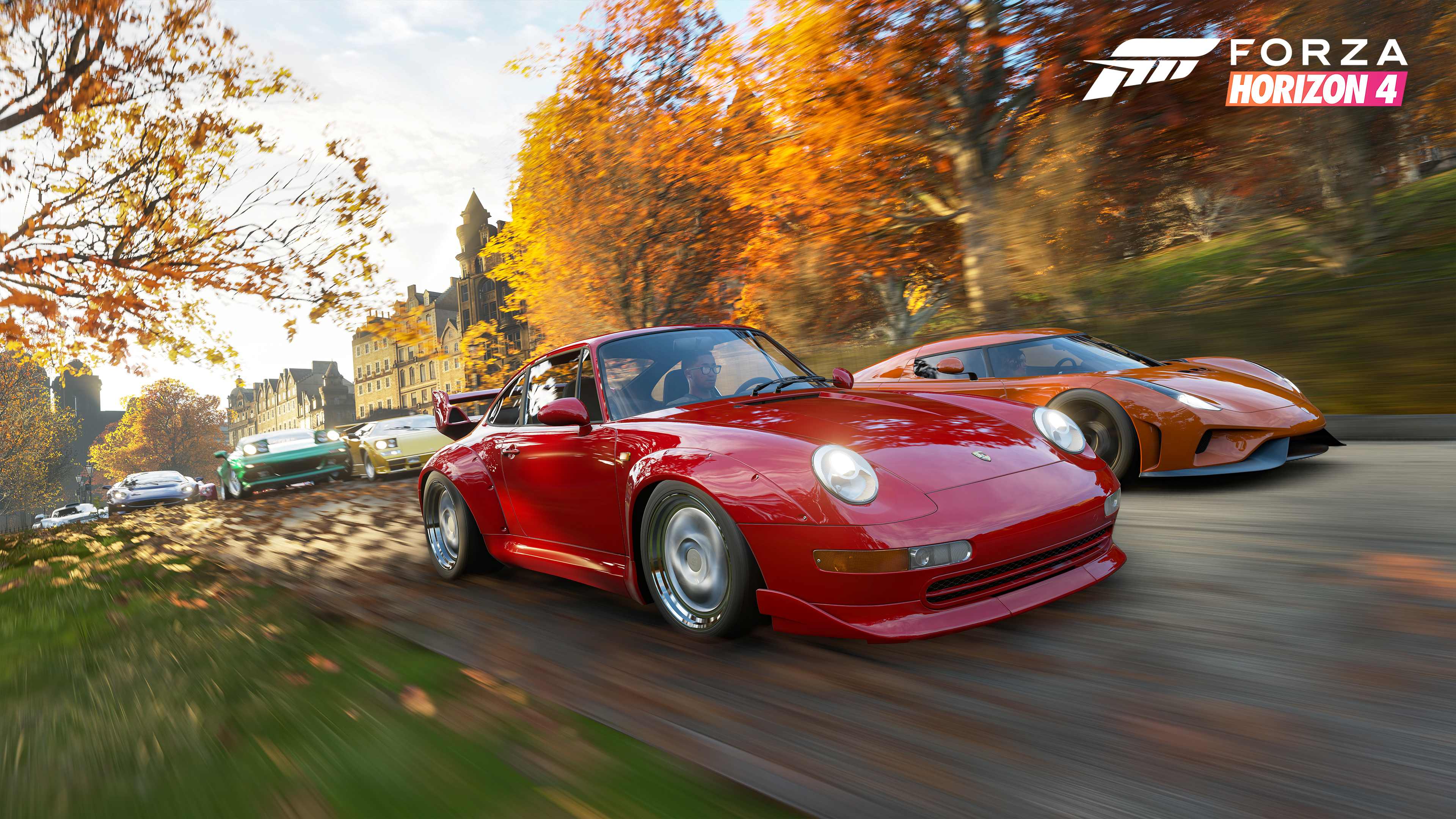 The best parts of forza horizon 4 have nothing to do with racing