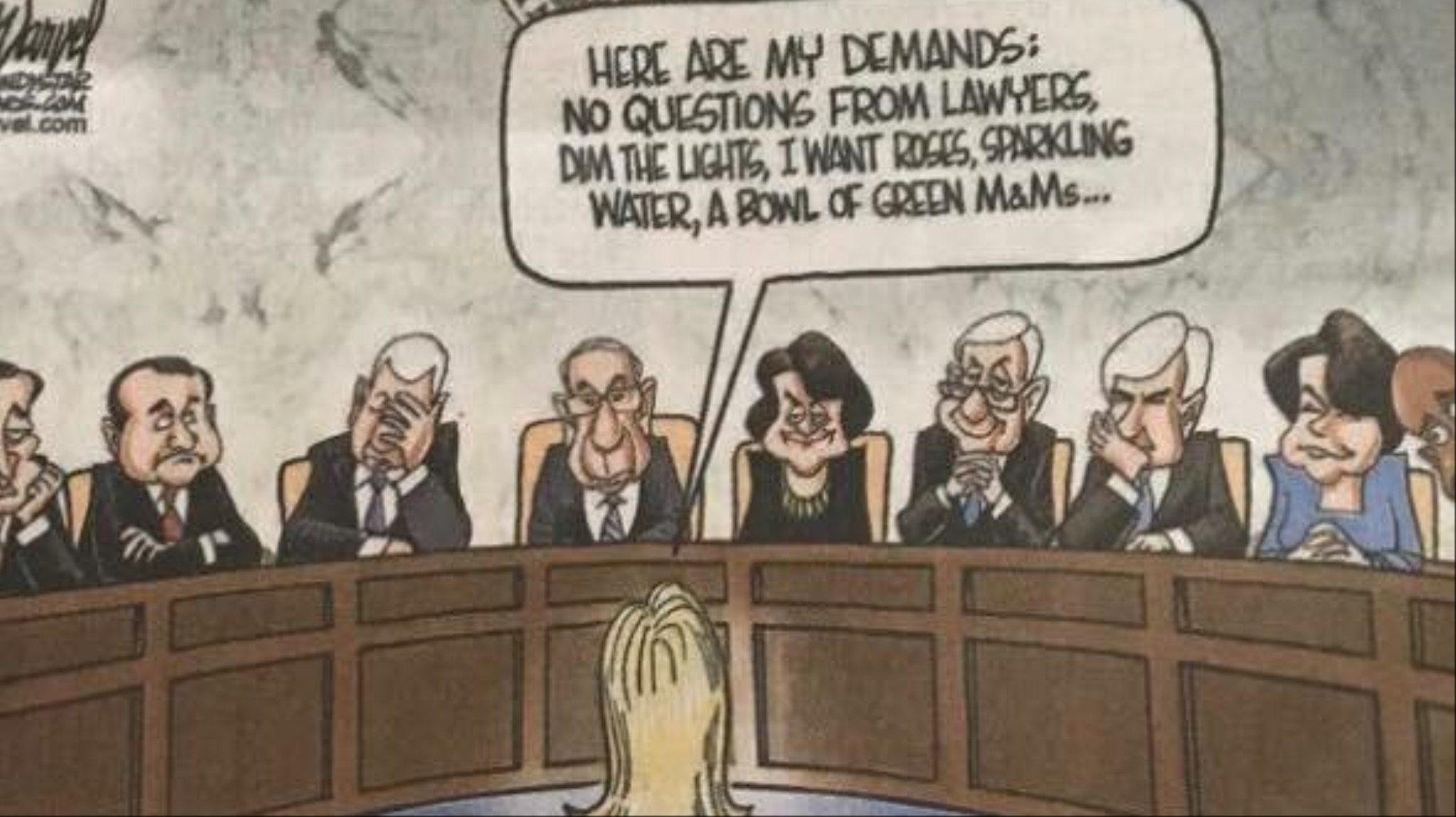 This Newspaper Ran a Wildly Offensive Cartoon of Kavanaugh's