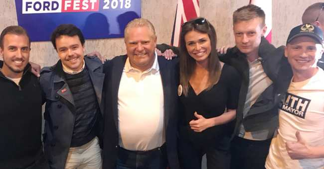 Image result for andrew scheer faith goldy