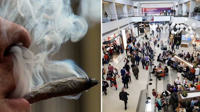 You Can Bring Your Weed to the LA Airport Now