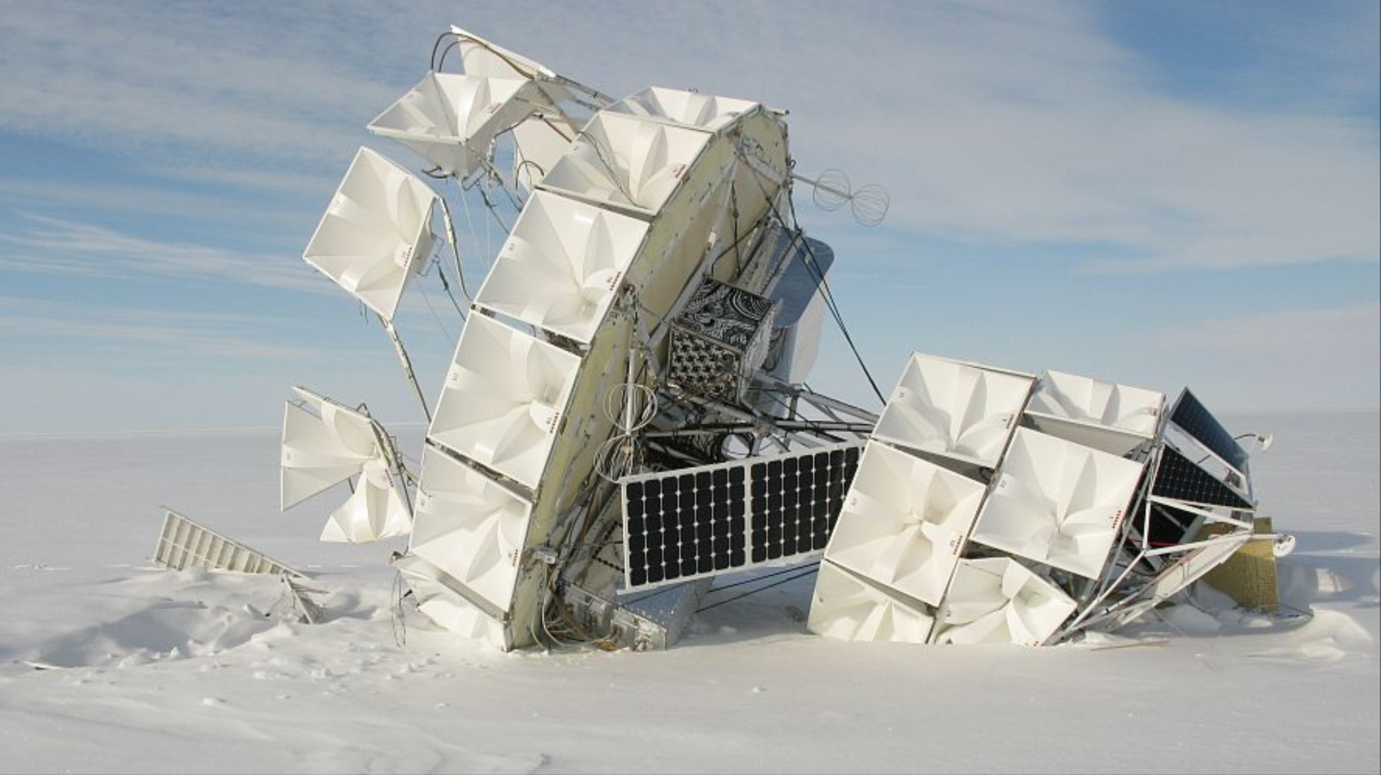 Mysterious Cosmic Rays Shooting from the Ground in Antarctica Could